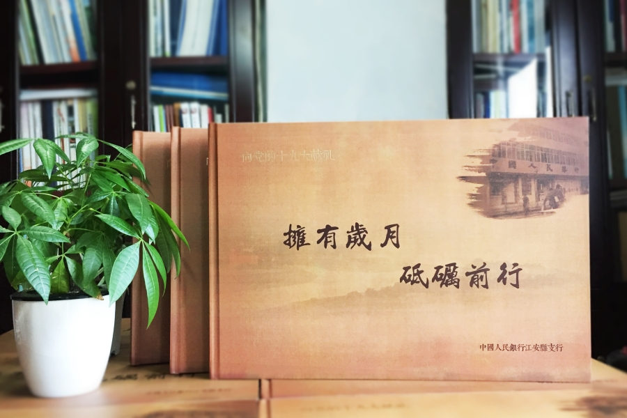 集团公司十周年庆典纪念册-企业画册设计